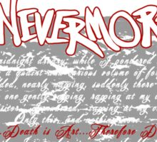 The Following:Nevermore Sticker