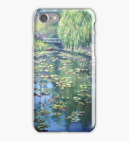 Pond Impressions iPhone Case/Skin