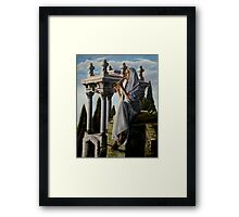 Mournful melody Framed Print
