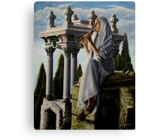 Mournful melody Canvas Print
