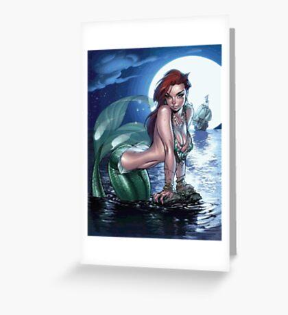 Siren, mermaid Greeting Card