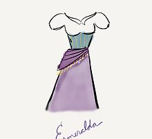 Esmeralda Costume iPhone Case by Wfam21