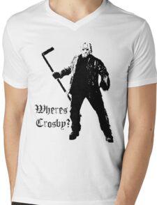 Jason is not a Crosby fan... Mens V-Neck T-Shirt