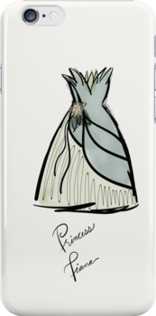 Princess Tiana Costume iPhone Case by Wfam21