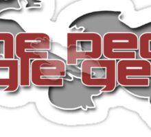 Geese Sticker