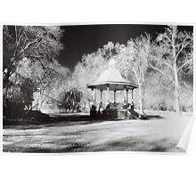 Rotunda, Benalla Botanical Gardens Poster