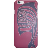Mean Fish  iPhone Case/Skin