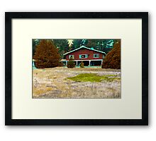 A Little Patch of Green Framed Print