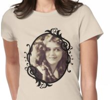 Mary Pickford - Vintage Lady with kitten - Vintage Selfie Womens Fitted T-Shirt