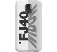 FJ40 Widow Shadow Samsung Galaxy Case/Skin