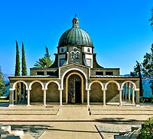 Mount of Beatitudes by Benjamin Gelman