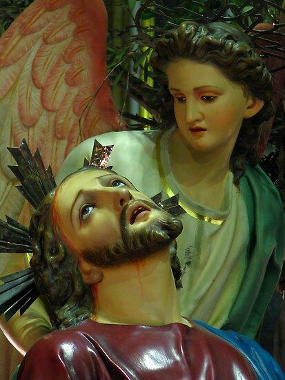 In The Garden of Gethsemani by fajjenzu
