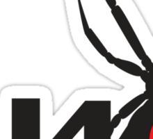 FJ40 Widow Spider  Sticker