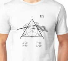 Pink Floyd - The Dark Side Of The Math Unisex T-Shirt