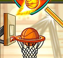 Basketball iPhone Game - Fun Sports Basketball Shooting Game by johnmorris8755