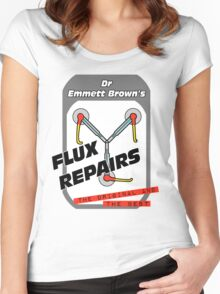 Flux Repairs Women's Fitted Scoop T-Shirt