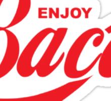 Enjoy Bacon Sticker