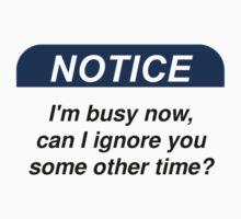 Notice by Ilovebubbles