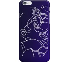Blue Mario iPhone Case/Skin
