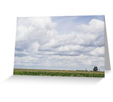 Overcast sky  Greeting Card