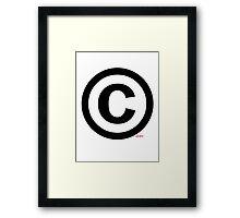 Copyright (©) Framed Print
