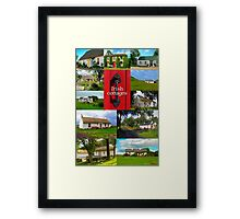 Irish Cottages Framed Print