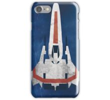Battlestar Glactica pop art / minimal viper  iPhone Case/Skin