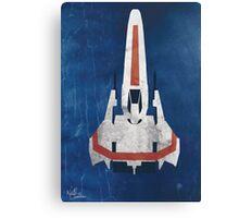 Battlestar Glactica pop art / minimal viper  Canvas Print