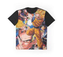 Goku Evolution Graphic T-Shirt