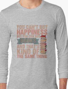 Books=Happiness Long Sleeve T-Shirt