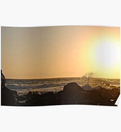 Hastings Point Sunrise 2 Poster
