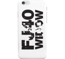 Fj40 Widow Bold Splat iPhone Case/Skin