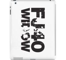 Fj40 Widow Bold Splat iPad Case/Skin