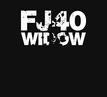 FJ40 Widow Bold Splat (W) Womens Fitted T-Shirt
