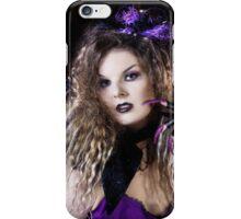 Witch goth lila iphone iPhone Case/Skin