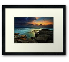 The Edge of Paradise Framed Print