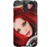 Red hair sexy model ariel Samsung Galaxy Case/Skin