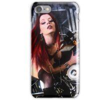 Harley Davidson girl 04 iPhone Case/Skin