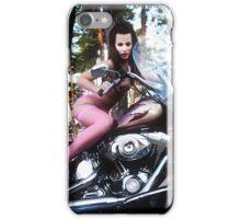 Harley Davidson girl 06 iPhone Case/Skin