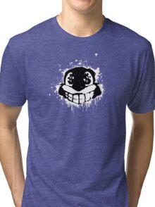 Conker - Black and White Tri-blend T-Shirt