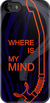 Where is my mind - Pixies iPhone by Achim Klein