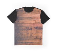 Wooden pattern Graphic T-Shirt