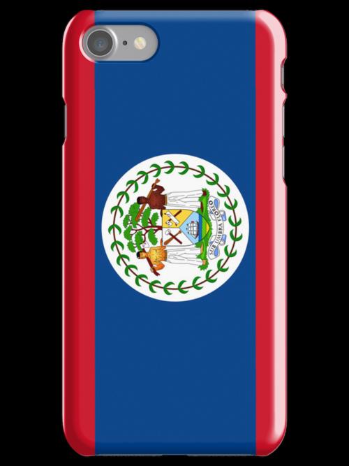 Belize Flag by pjwuebker