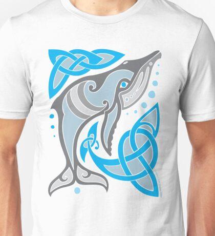 Celtic Whale Unisex T-Shirt