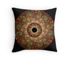 Wheel of Illusions I Throw Pillow
