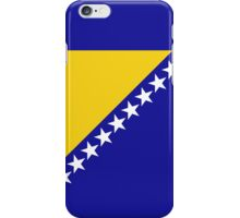 Bosnia Herzegovina Flag iPhone Case/Skin