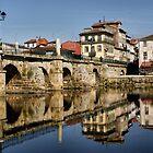 Roman Bridge at Chaves, Portugal by vribeiro
