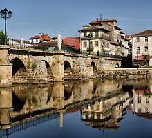 Roman Bridge at Chaves, Portugal by vribeiro