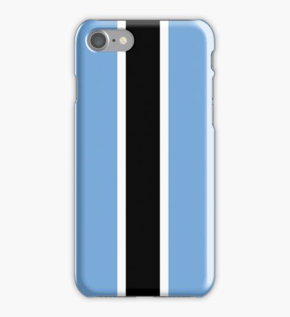 Botswana Flag iPhone Case/Skin