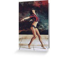 Urban Dancer Greeting Card
